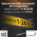 Estacionamento aeroporto de Congonhas