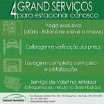 4 serviços do Grand Parking